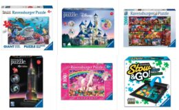 40% Off Ravensburger Puzzles at Target Online Only
