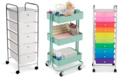 Michael's 10 Drawer Rolling Organizer or 3 Tier Rolling Cart $22.49 (Reg. $69.99)