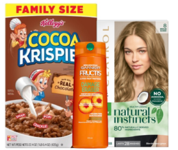 Today's Top New Coupons - Save on Kellogg's, CoverGirl, Garnier & More