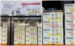 Costco:  Hot Deal on Chobani Less Sugar Greek Yogurt