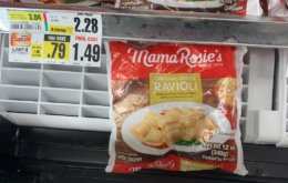 Mama Rosie's Frozen Ravioli Just $0.99 at ShopRite!
