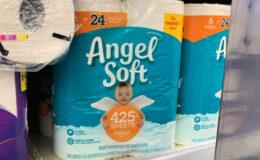 Angel Soft Bath Tissue as low as $0.29 per roll at ShopRite!