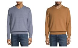 St. John's Bay V Neck Long Sleeve Pullover Sweater $8.99 (Reg.$40) Online Only at JCPenney!