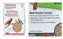 True Value Wild Bird Food, 20-Lb just $4.99 (Reg.$8.99)