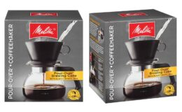Melitta 6-Cup Pour Over Coffee Brewer w/ Glass Carafe on Amazon!