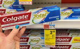 Colgate TotalSF Toothpaste Only $0.49 at CVS!