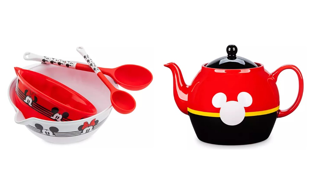 Mickey and Minnie Mouse Mixing Bowl and Spoon Set $14.38 ...