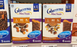 Glucerna Mini Treats Snack Bars Only $0.29 at CVS! {Reg. $5.79}