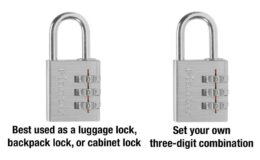 60% off Master Lock Set Your Own Combination Lock {Amazon}