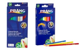 62% off Prang Thick Core Colored Pencils, Assorted Colors, 24 Count on Amazon!