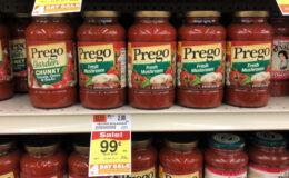 Acme 4 Day Sale: $0.24 Prego Pasta Sauce, $0.99 Purex Laundry Detergent Pacs & More