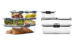 Rubbermaid 10pc Brilliance Leak Proof Food Storage Containers $13.76 (Reg.$15.29) at Target