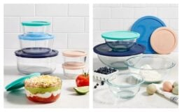 Pyrex 12-Pc. Storage Set or 8-Pc. Mixing Bowl Set $15.99 (Reg. $47.99) at Macy's