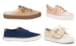 Sperry Sneaker Flash Sale - Sneakers for the family only $29.99 + Free Shipping!