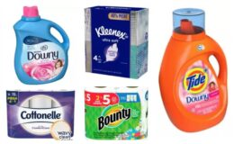 Last Day! FREE $10 Target GC wyb $35 In Household Essentials + Circle Offers!