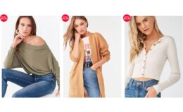 Extra 25% Off Sitewide + Extra 30% Off Sale Items at Forever 21- Mens, Girl's and Plus Sizes Too!