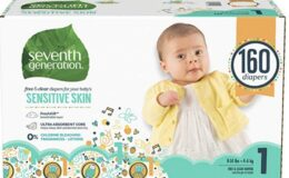 Stock Up Price! Seventh Generation Baby Diapers for Sensitive Skin