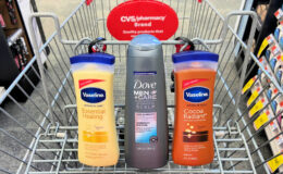 Dove Men+Care Shampoo and Vaseline Body Lotion as Low as $0.32 at CVS!