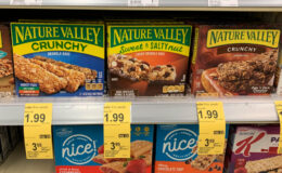 Nature Valley Bars, $1.49 at Walgreens!