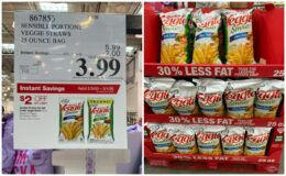 Costco:  Hot Deal on Sensible Portions Garden Veggie Straws - $0.16 per oz!