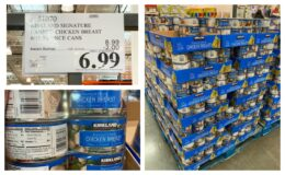 Costco:  Unadvertised Deal on Kirkland Signature Chicken Breast - $1.17 per 12 oz. can!