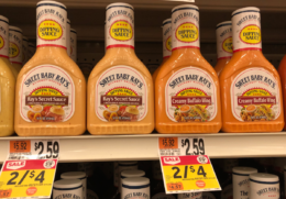 Sweet Baby Rays BBQ or Dipping Sauces only $1.50 at Stop & Shop and Giant! { No Coupons Needed!}