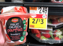 Del Monte Fruit Crunch Parfait just $0.75 at Stop & Shop