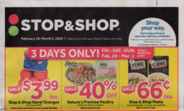 Stop & Shop Preview Ad for 2/28 Is Here!