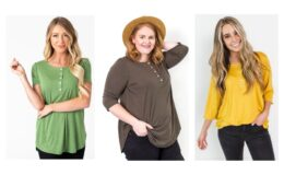 Extra 50% off Chevy & Juliette Tees + Free Shipping at Cents of Style!