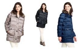 Women's Insulated Winter Puffer Parka $44.98 (Reg.$199) at Lands' End!