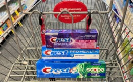 Crest ProHealth, 3D White or Complete Toothpaste Only $0.99 at CVS!