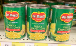 $0.75 Del Monte Canned Vegetables at Acme!
