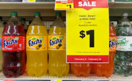 Fanta, Barq's or Mello Yello 2 Liters Just $1 at Dollar General! {No Coupon Needed}