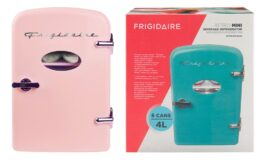 Frigidaire Portable Retro 6-can Mini Fridge $29 (Reg.$49.99) at Walmart!