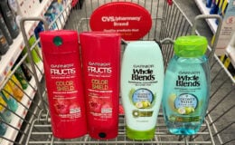 Garnier Fructis and Whole Blends Hair Care Only $0.50 at CVS!