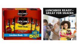 Stock Up! Jack Link's Beef Jerky, Teriyaki, 5 pack, 0.625 oz. Bags