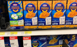 No Coupons! Kraft Macaroni & Cheese Dinners Only $0.89 at Target!