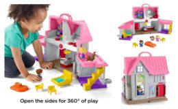 50% off Fisher-Price Little People Big Helpers Home {Amazon}
