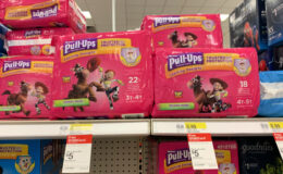 Pull-Ups Training Pants Jumbo Packs, $5.16 at Target! {Ibotta Rebate}