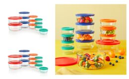 Pyrex 24-piece Simply Store Round Glass Food Storage Set $17.42 (Reg.$29.99) at Walmart!