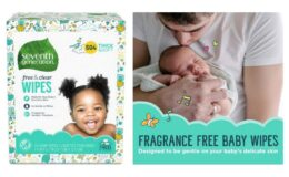 Extra 25% off Seventh Generation Baby Wipes {Amazon} or Gift Card deal at Walmart!