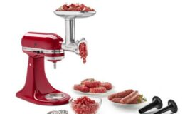 Kitchenaid Stand Mixer Attachments Extra 25% Off Metal Food Grinder, Fresh Prep Slicer/Shredder, & More