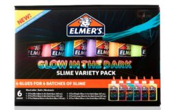 Elmer's Glow in the Dark Glue Variety Pack Liquid Glue for Making Slime, Assorted Colors, 6 Count $9.99 (was $29.99) at Walmart
