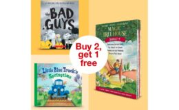 Last Day! B2G1 Free on Kid's Books at Target