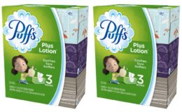 Walgreens.com - Puffs Plus Lotion Facial Tissues 3 Pack $5.19 + Free Shipping!