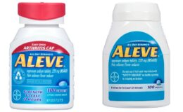 Walgreens.com: Aleve Pain Reliever Fever Reducer 100 Ct. $5.99 (Reg. $11.99) + Free Shipping