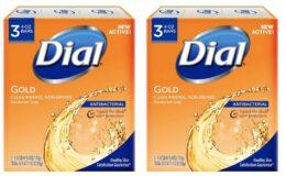 77% Off Dial Antibacterial Deodorant Soap, Gold, 3 Count {Amazon}