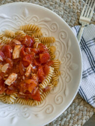 Pasta with Tuna and Tomatoes Recipe - Cook from Your Pantry