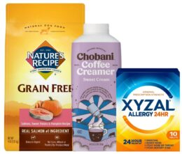 Today's Top New Coupons - Save on Chobani, Xyzal, Olive Garden & More
