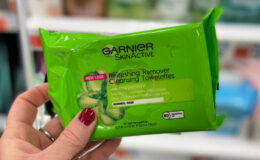 Garnier SkinActive Cleansing Towelettes Only $0.59 at CVS!